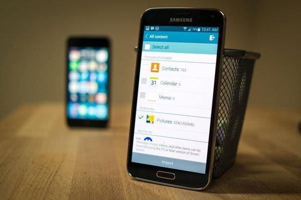 Как перенести информацию с iOS на Android с iPhone на Samsung Galaxy? - изображение