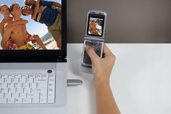 как с планшета перекинуть фото на ноутбук