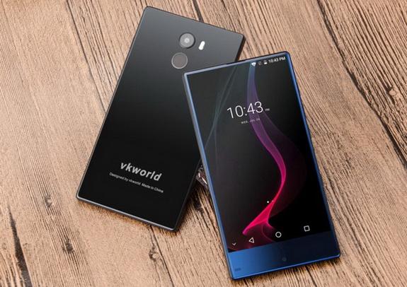 Бюджетный безрамочный смартфон VKworld Mix Plus уже в продаже - изображение
