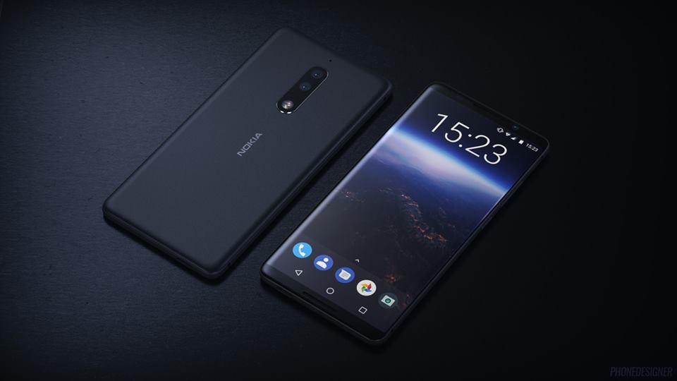 Nokia 9 -  флагман компании Nokia получит темно синий корпус - изображение