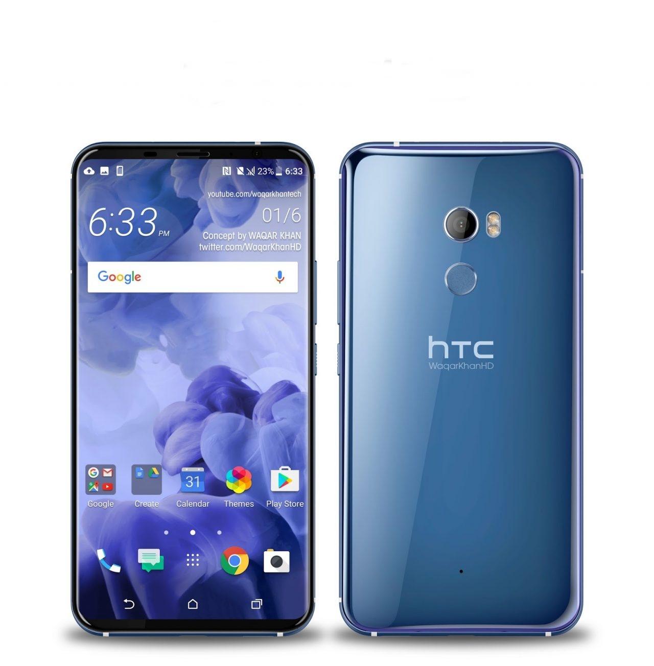 В рамках корпоративной презентации HTC анонсировала выход смартфона HTC U11 Plus  - изображение