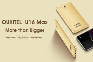 OUKITEL U16 Max – первый фаблет компании с 6-дюймовым дисплеем - изображение