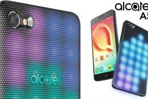 MWC 2017: Alcatel A5 LED — первое в мире мобильное устройство с интерактивной... - изображение