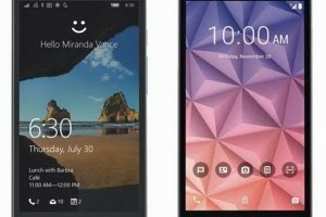 Alcatel OneTouch Fierce XL – смартфон поставляемый на двух ОС - изображение