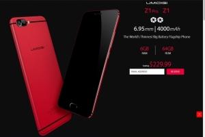 Флагманские смартфоны Z1 и Z1 Pro от компании UMIDIGI - изображение