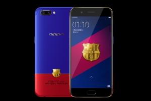 Oppo R11 FC Barcelona Edition – смартфон для фанатов Барселоны - изображение