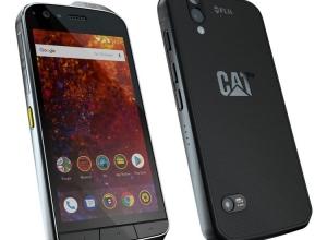 Защищенный смартфон CAT S61 оборудован тепловизором и дальномером - изображение