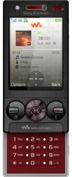 Фото Sony Ericsson W715