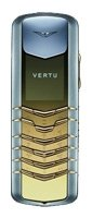 Фото Vertu Signature Stainless Steel with Yellow Metal Details