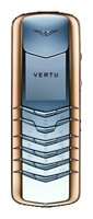 Фото Vertu Signature Stainless Steel with Red Metal Bezel