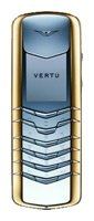 Фото Vertu Signature Stainless Steel with Yellow Metal Bezel