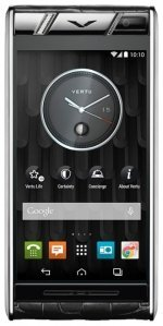 Фото Vertu Aster Diamonds Black Alligator