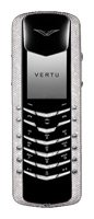 Фото Vertu Signature M Design White Gold Pave Diamonds with baguette keys