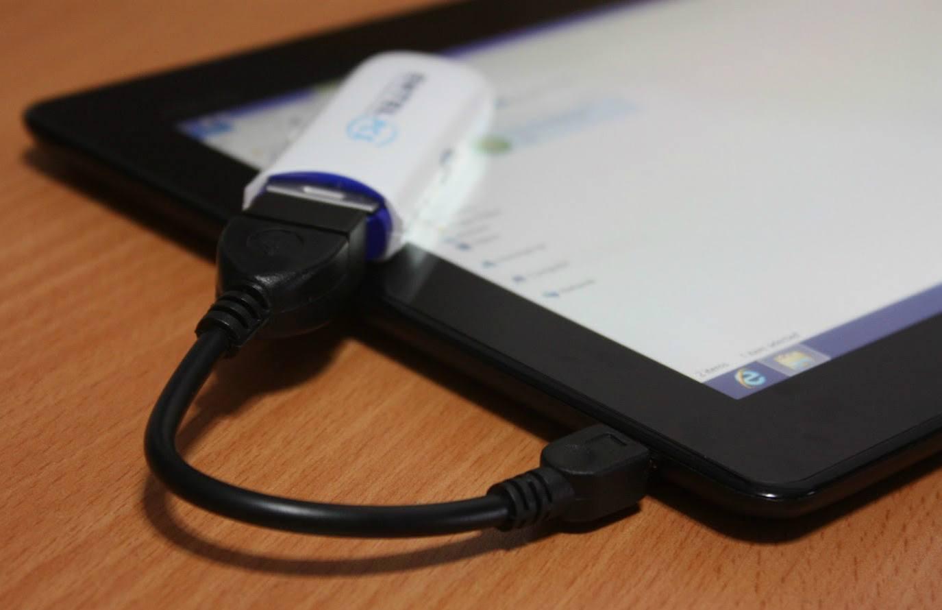 Как подключить USB флешку к Android смартфону и планшету - изображение