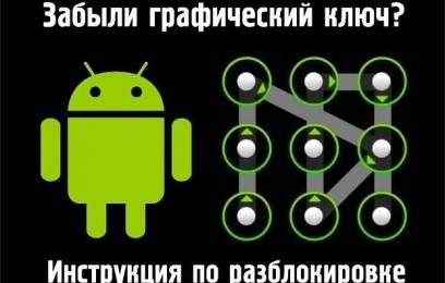 Руководство по разблокировке графического ключа на Android - изображение
