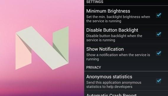 Как включить ночной режим для Android 7.0? - изображение