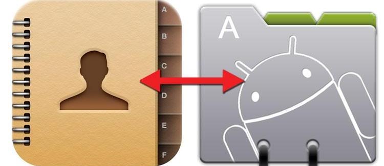 5 простых способов как перенести контакты с Андроида на Андроид телефон - изображение