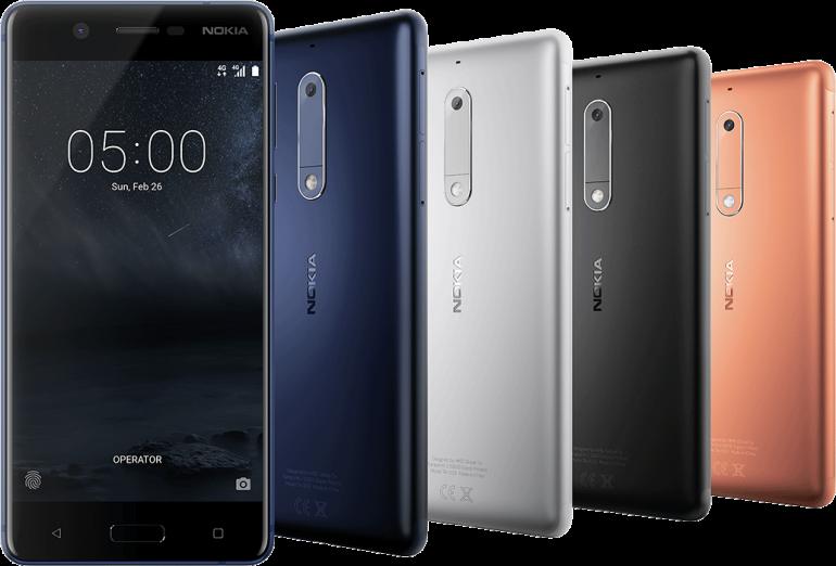MWC 2017: представление новых Android-смартфонов от Nokia  - изображение