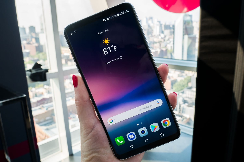 Смартфон LG G7 официально будет представлен в январе - изображение