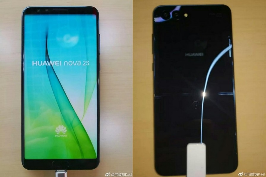 Первые фото смартфона Huawei Nova 2S - изображение