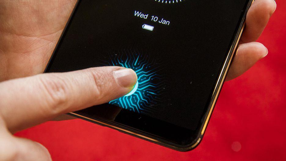 CES 2018: смартфон VIvo оснастили сканером прямо на рабочей поверхности экрана  - изображение