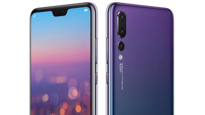Новинка Huawei P20 Pro – рендеры в разных цветах и особенным положением камеры - изображение
