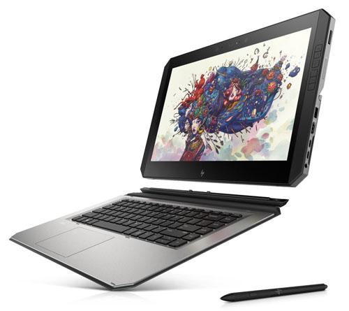 Гибридный планшетник HP ZBook x2 G4 ориентирован на графических дизайнеров - изображение