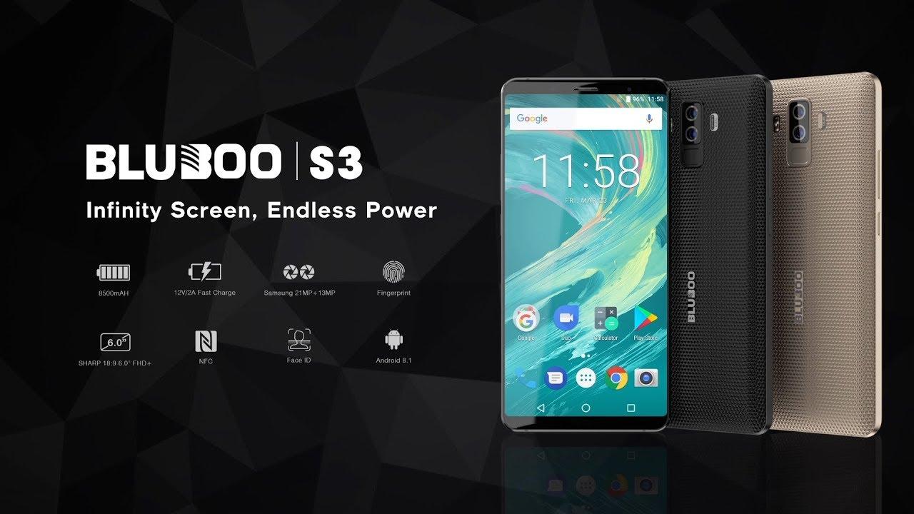 Смартфон Bluboo S3 станет дешевле на 100 USD в честь 12-летия бренда - изображение
