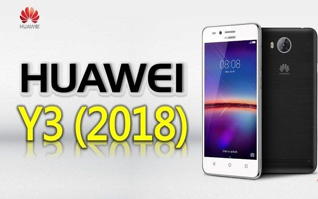 Анонс бюджетного смартфона  Huawei Y3 (2018) Android Go - изображение