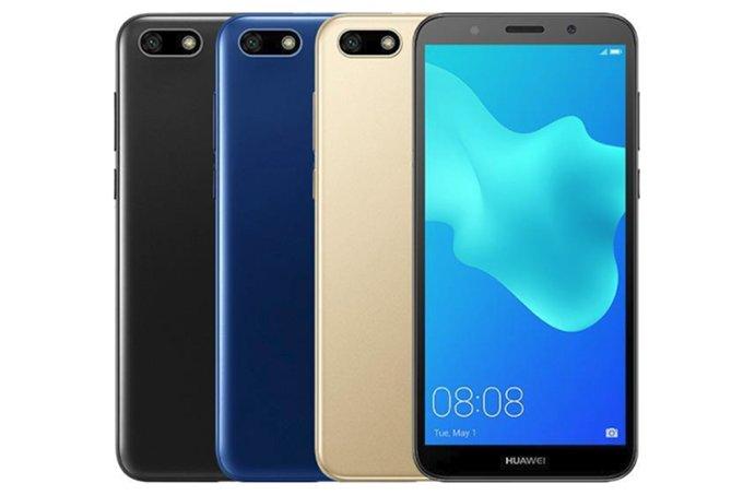 Бюджетник Huawei Y5 Prime (2018) получил систему распознавания лиц - изображение