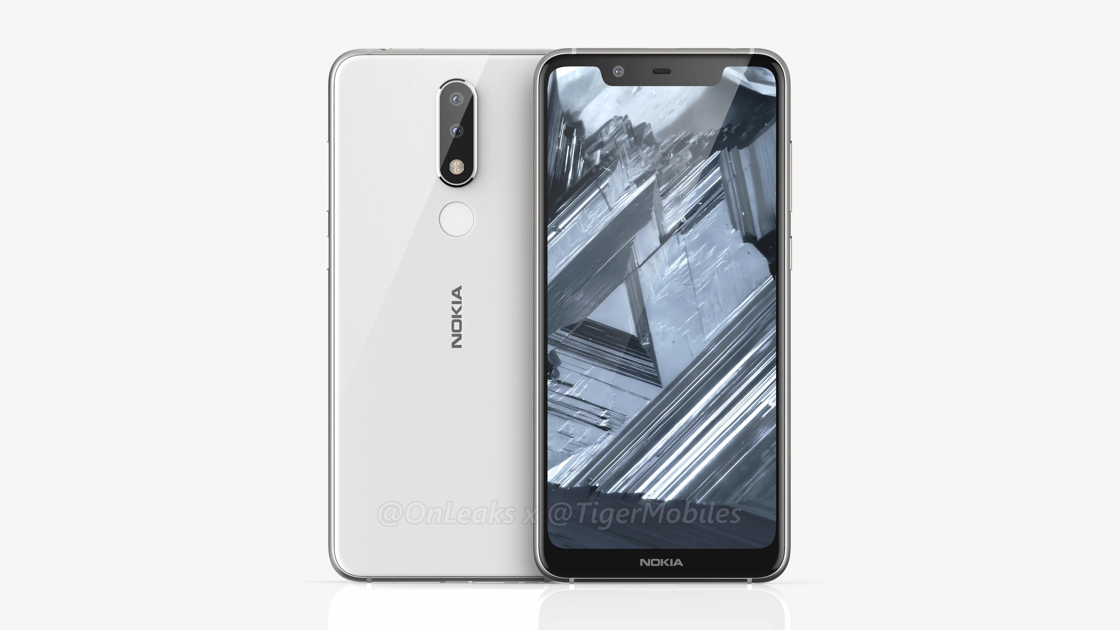В сеть попал рендер новинки Nokia X5 - изображение