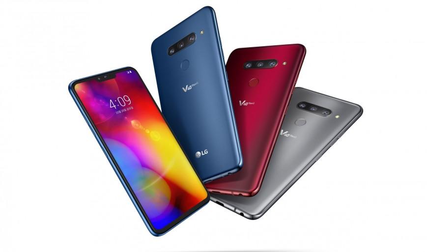 Официально. Релиз смартфона LG V40 ThinQ - изображение