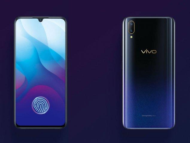 Новинка Vivo V11 получила подэкранный сканер отпечатков пальцев - изображение