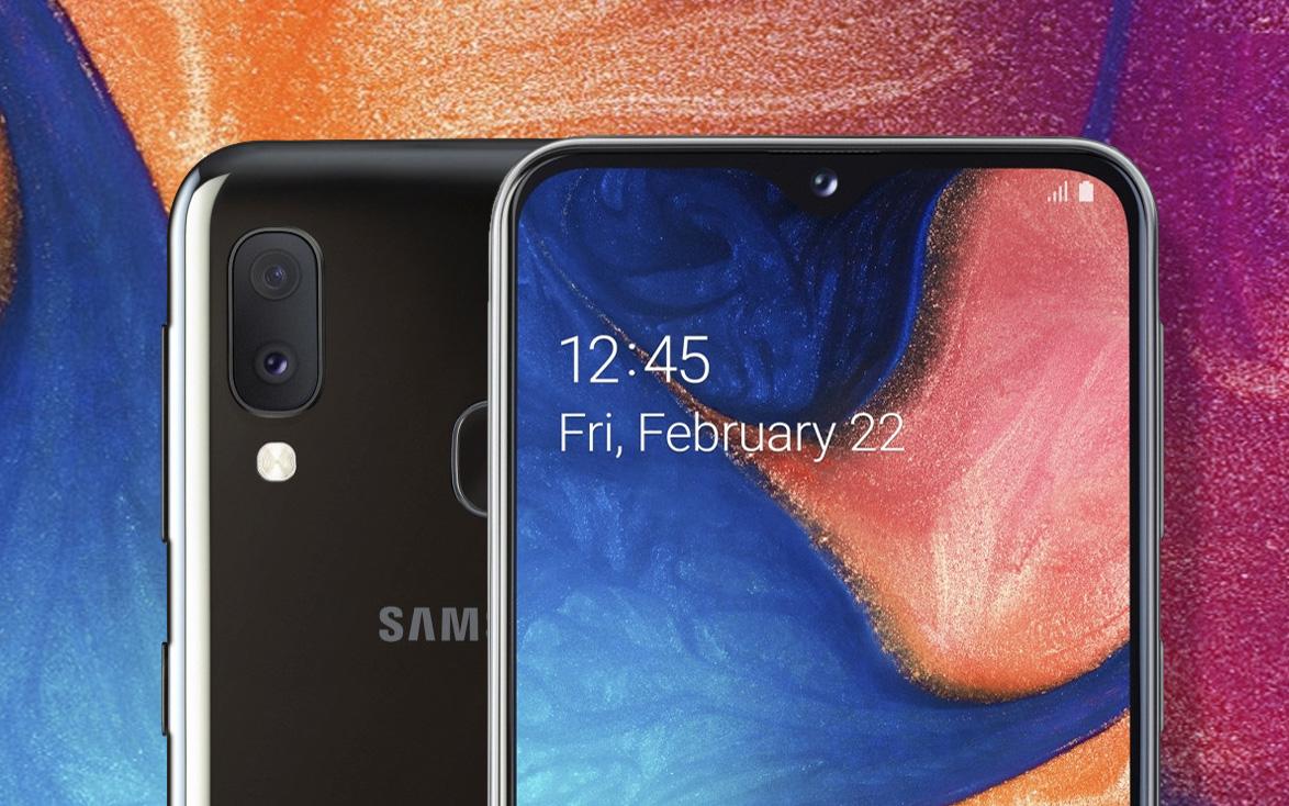 Европейский дебют смартфона Samsung Galaxy A20e - изображение