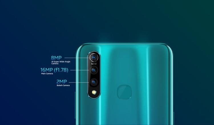 Презентован смартфон Vivo Z1 Pro: большой аккумулятор и тройная камера - изображение