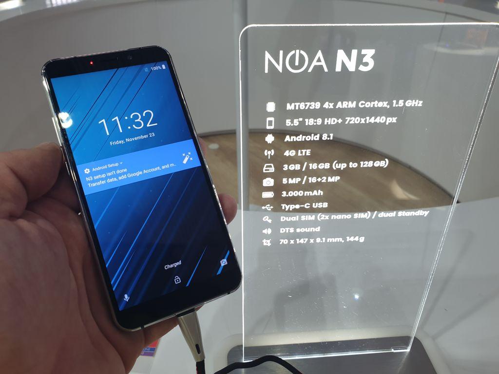 Простенький NOA N3 выходит в продажи - изображение