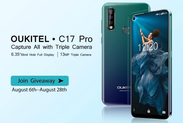 Oukitel C17 Pro: банальный закос под Honor 20 - изображение