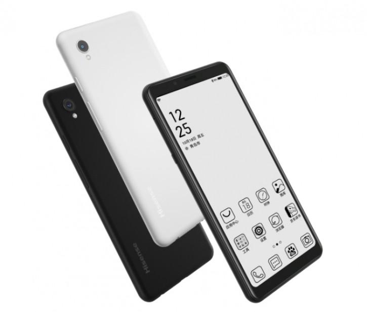 Hisense выпустила два новых E-Ink смартфона – A6L и A5 - изображение