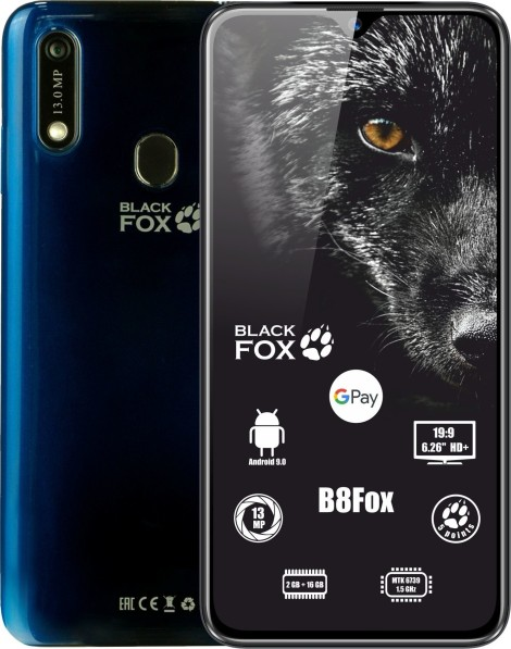 Анонсирован новый простенький смартфон Black Fox B8Fox. но зато с поддержкой NFC - изображение
