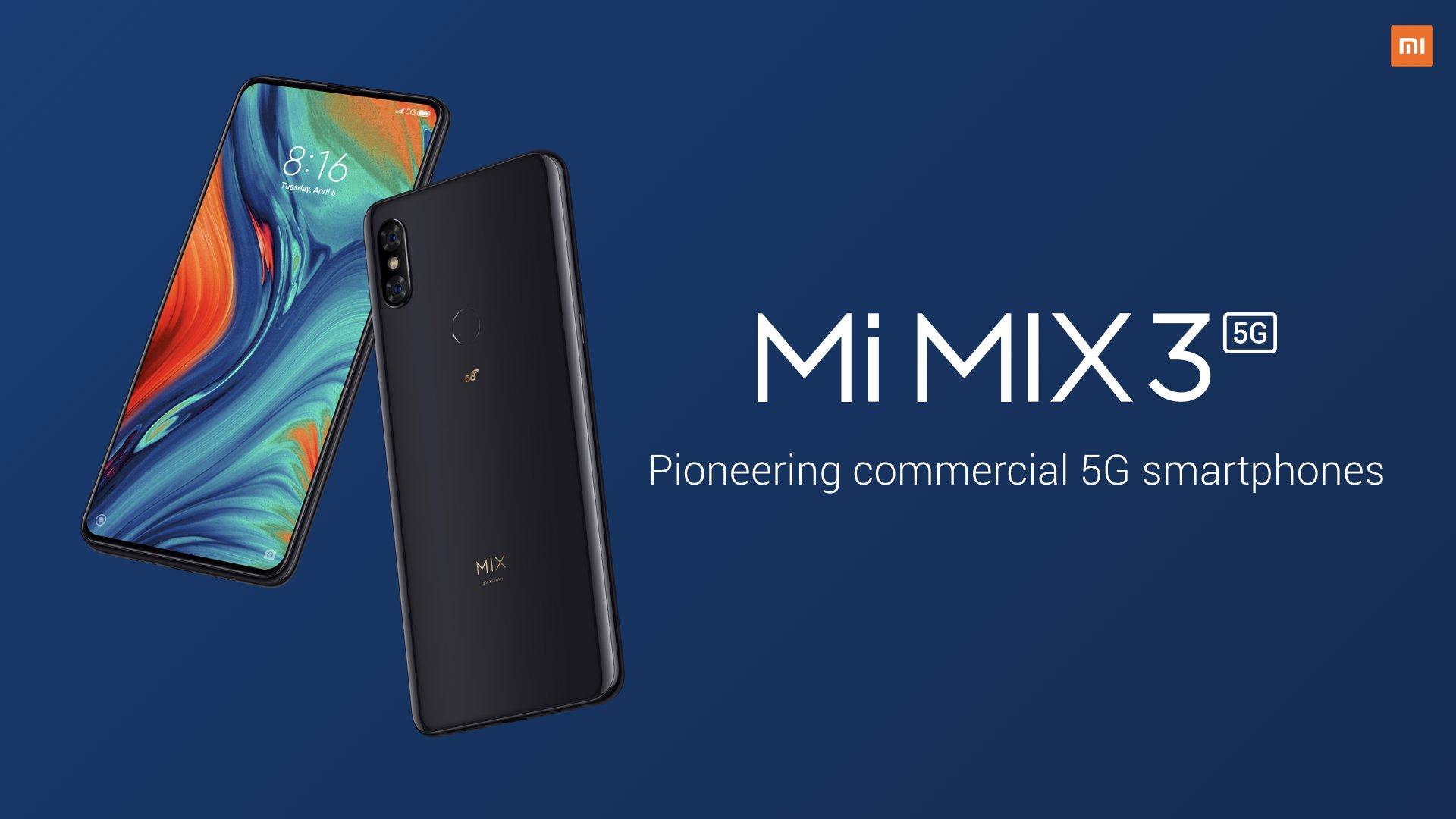 Xiaomi Mi Mix 3 5G появится на рынке в новых модификациях - изображение