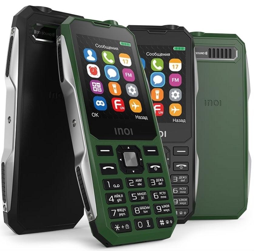 INOI 244Z: смартфон для военнослужащих - изображение