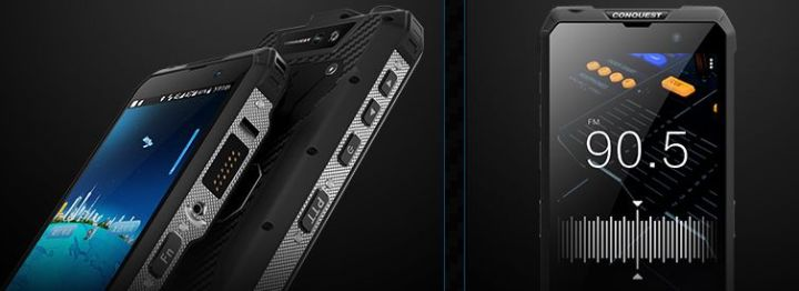 Conquest S18: смартфон со спутником и прочими фишками - изображение