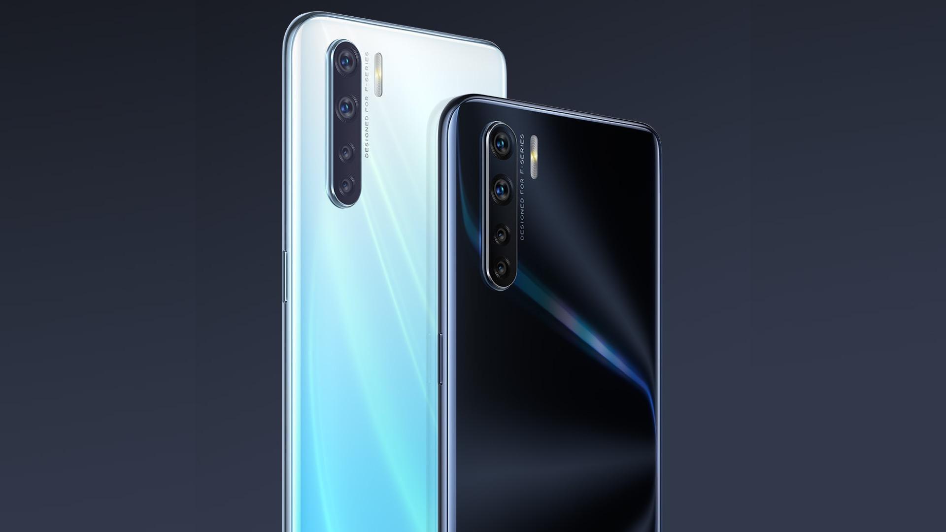 Oppo F15: смартфон среднего уровня с 6,4-дюймовым дисплеем, квадрокамерой и дактилоскопическим сканером под экраном - изображение