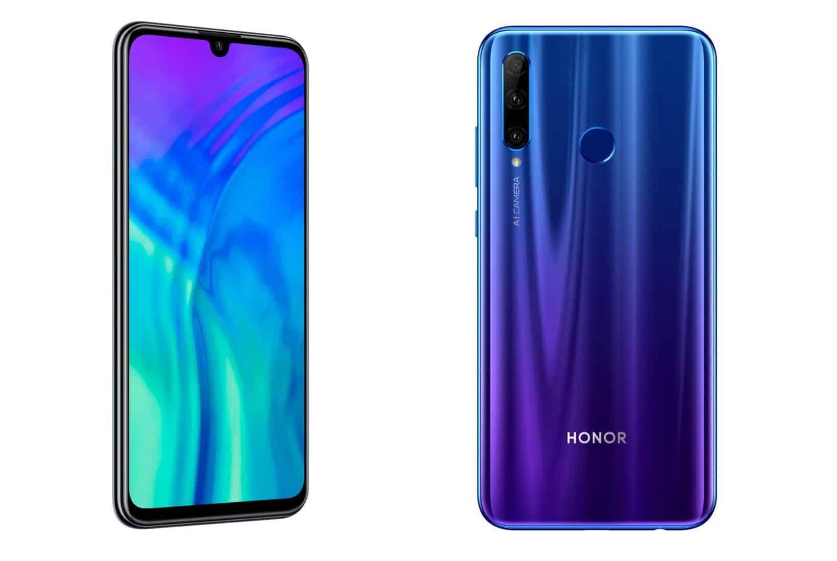 В России появится новый Honor 20 Lite, третий по счету аппарат от Huawei - изображение