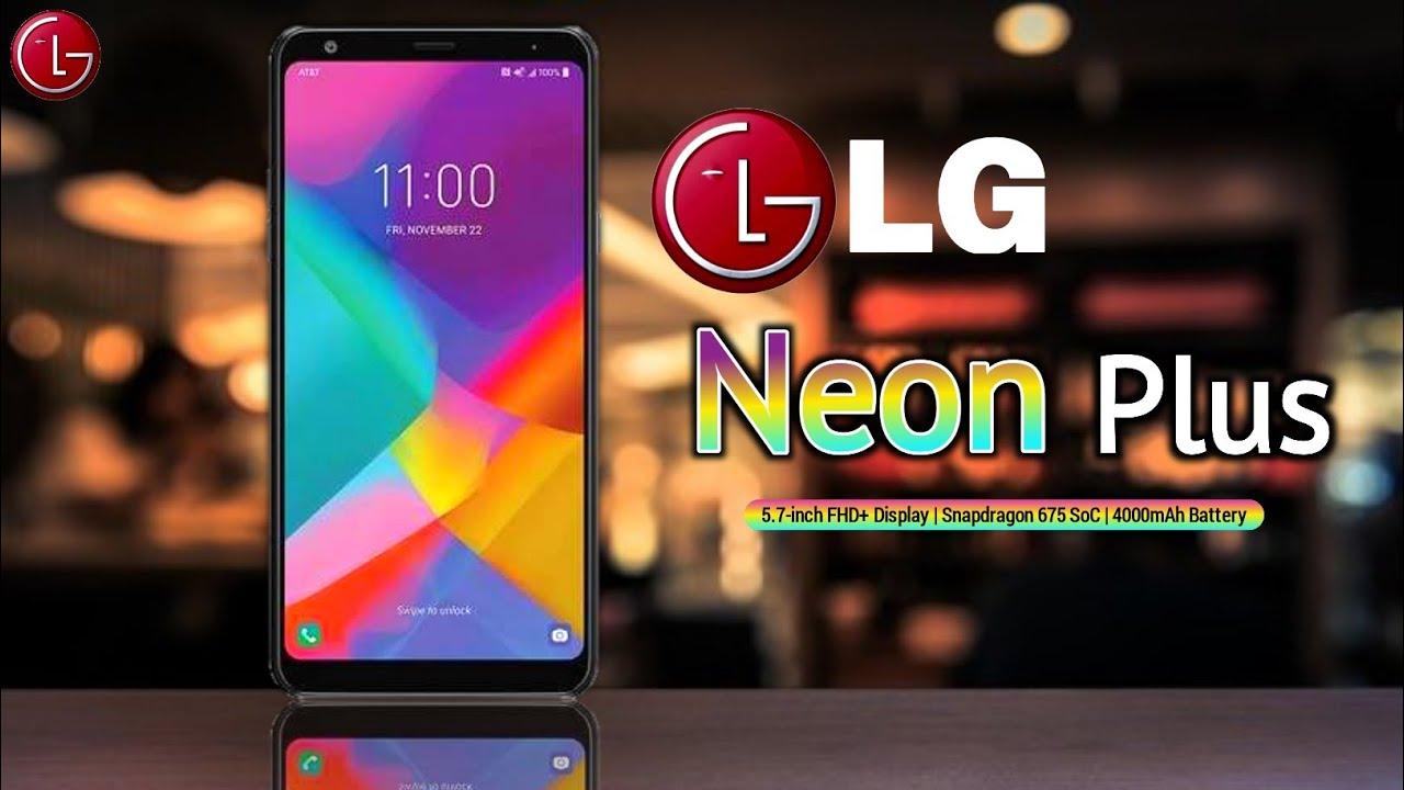 Новый 4G-смартфон LG Neon Plus для оператора AT&T - изображение