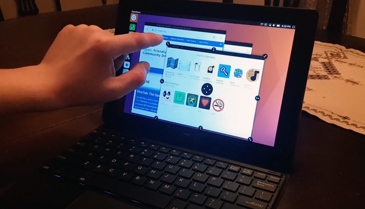 Анонс планшета PineTab - 10 дюймовый экран и ценник в 100 долларов - изображение