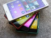 Sony Xperia Z3 Compact – смартфон в 4-х цветах - изображение