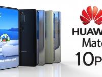 Появились первые пресс-изображения смартфона Huawei Mate 10 Pro  - изображение