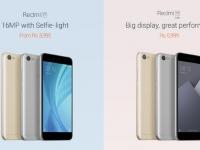 Xiaomi Redmi Y1 и Y1 Lite - парочка селфи смартфонов от Xiaomi  - изображение