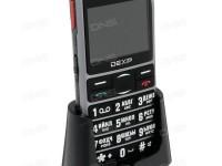 Новинка DEXP Larus SR10: бабушкофон с модным дизайном - изображение